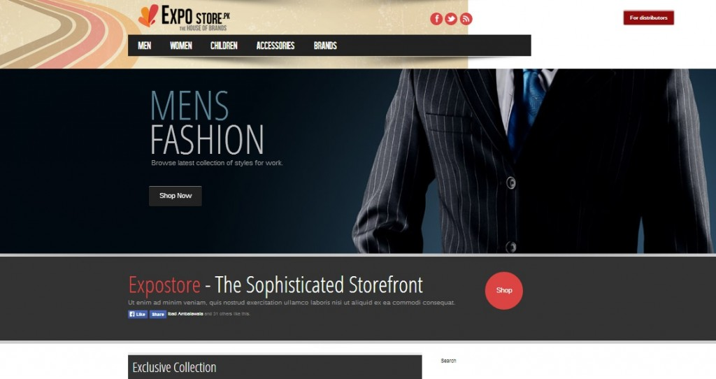 On-Page and Off-Page Search Engine Optimization & Content Writing for a Clothing Brand's Online Store